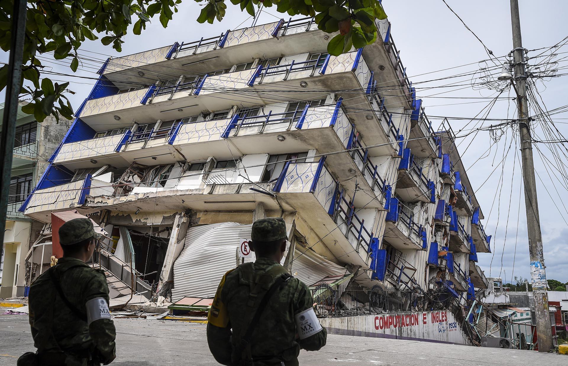 México sufre consecuencias del terremoto de 8,1 y la