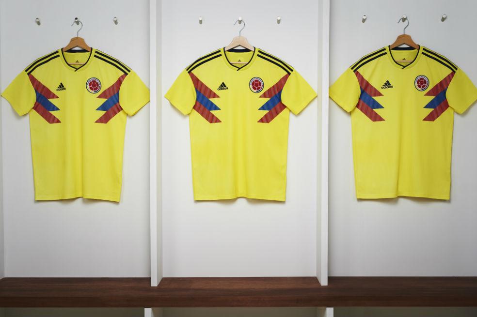 La Selección Colombia presentó su camiseta para el Mundial de Rusia 2018 867e8ff7ba9e7