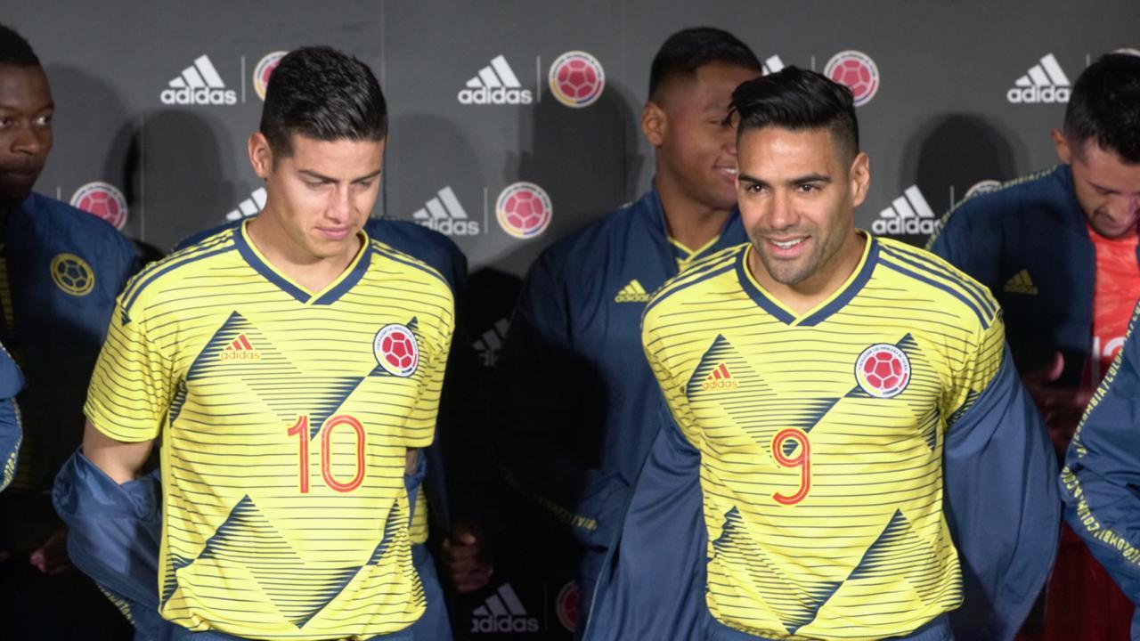 Nueva Camiseta De Colombia 2019 Detail