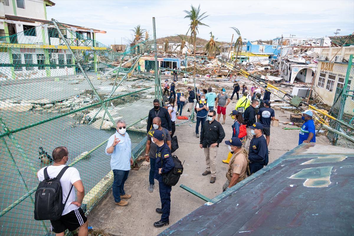 Presidente Duque afirma que la reconstrucción de Providencia será una de  las prioridades de su Gobierno » Reporteros Asociados