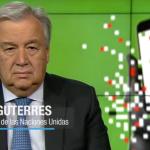 Mensaje de Antonio Guterres con motivo del Día de la Libertad De Prensa. 2019-05-03 15.06.02