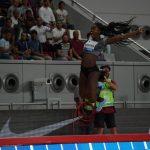 Caterine Ibargüen se impone en el salto largo de la Liga Diamante
