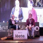 conversación entre el autor francés Jean Baptiste Del Amo y el crítico colombiano Pedro Adrián Zuluaga