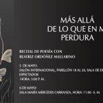 Recital de Poesía en la FILBO