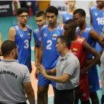 Selección Colombia venció a la selección chilena 3-2.Foto- Federación Colombiana de Voleibol.