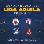 FECHA 1 DE LOS CUADRANGULARES SEMIFINALES – LIGA AGUILA I-2019