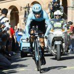 El colombiano Miguel Ángel López, durante la primera etapa del Giro de Italia 2019