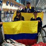Equipo Colombia que participa en el BNP Paribas World Team Cup de Israel.