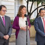 """""""No vamos a permitir la cohabitación del narcotráfico en la sociedad colombiana"""": Vicepresidenta"""