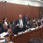 """El senador Carlos Felipe Mejía acusó a Pablo Catatumbo de ser un """"bandido"""""""