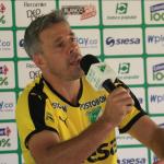 Lucas Pusineri.,técnico del Deportivo Cali
