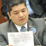Senador Carlos Eduardo Guevara del Partido Político MIRA