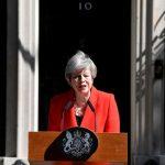 Theresa May anunció el viernes que renunciará como líder del Partido Conservador de Gran Bretaña