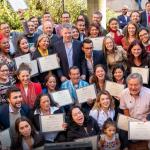 En el marco de la graduación de 41 líderes regionales en la Universidad de los Andes, el expresidente Juan Manuel Santos se pronunció sobre el artículo publicado por el The New York Times, en el que afirman que la paz en Colombia se estaría desintegrando.