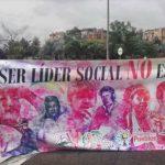 Asesinatos a líderes sociales