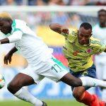 Colombia tropieza con Senegal