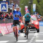 Giulio Ciccone ganó la etapa 16