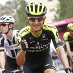 Chaves fue segundo en la etapa 17 del Giro