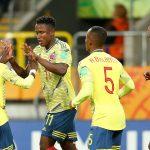 Colombia confirmó su pasaje a octavos de final luego de golear a Tahití