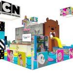Cartoon Network tiene sets interactivos en Comic Con Colombia 2019
