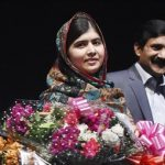 Malala, ganadora nobel de Paz.