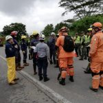 Cuerpos de Emergencia en Pereira Foto Defensa Civil
