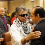 Protesta contra Jesús Santrich en la plenaria de la Cámara. 4
