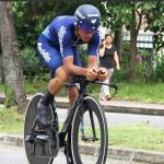 Óscar Sevilla, primer líder de la Vuelta a Colombia 20192019-06-16 17.59.11