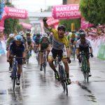 William David Muñoz ganó la primera etapa de la Vuelta a Colombia Bicentenario
