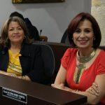 Bancada del Partido Político MIRA integrada por las concejalas Luz Mireya Camelo y Olga Victoria Rubio Cortes