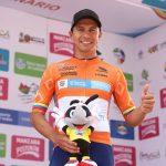 Oyola ganó la segunda etapa y es nuevo líder de la Vuelta de la vuelta a Colombia Bicentenario