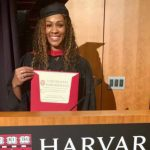 Gloria Prado Pino Graduada como magister de Harvard