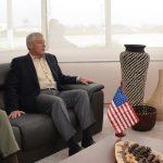Encuentro del Presidente Santos y titular de Defensa