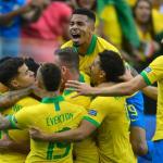 Brasil Goleo 5-0 a Peru