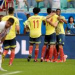 Colombia derrotó a Paraguay