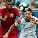 Argentina vence Qatar y a cuartos Copa América