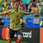 Hasta que al minuto 31', Radamel Falcao García recuperó un balón en campo contrario, se lo pasó a Santiago Arias quien habilitó a Gustavo Cuéllar para el 1-0 con el que terminó la primera parte.