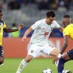 Ecuador y Japón empatan y clasifican a Paraguay