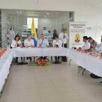 El Presidente Iván Duque encabezó este lunes una reunión con las autoridades del Putumayo, para analizar la respuesta institucional a la situación que atraviesa el departamento como consecuencia de las lluvias.