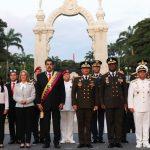 Actos del 198 Aniversario de la Batalla de Carabobo y Día Nacional del Ejército Bolivariano.  AVN 24062019