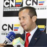 presidente del Consejo Nacional Electoral (CNE), Heriberto Sanabria