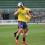 Selección Colombia se alista para enfrentar a Chile-Stefan Medina