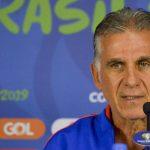 Chile es favorito, defiende el título; no tenemos nada que perder Queiroz