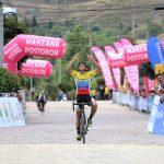 Oscar Quiroz gana la undécima etapa de la Vuelta a Colombia Bicentenario