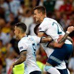 Argentina venció 2 a 0 a Venezuela