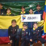 Equipo Colombia Coldeportes Sub 12. Foto: Prensa AAT.