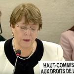 Michelle Bachelet, alta Comisionada de la ONU 2019-03-20 22.06.03