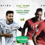 Argentina y Chile juegan por el tercer puesto