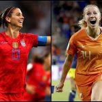 Estados Unidos y Holanda jugarán la final del Mundial femenino de Francia