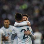 Argentina se quita una espina y vence a Chile en Copa América